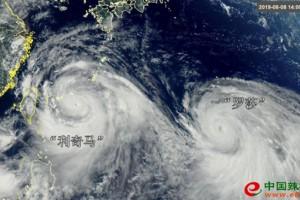 """超强台风""""利奇马""""""""雨神…"""