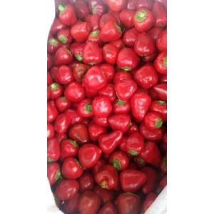 本人大量供应新鲜草莓椒,小米辣、三樱辣椒