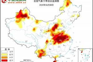 河南湖北等重旱区迎两轮强降雨 注意防范旱涝急转 ()