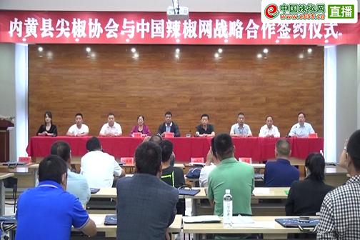 内黄县尖椒协会第四届换届大会
